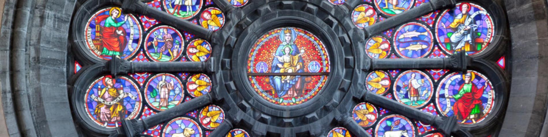 Vue intérieure de la Cathédrale de Tournai