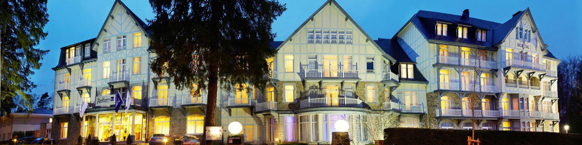 Radisson - Blu Balmoral - Hotel - Spa