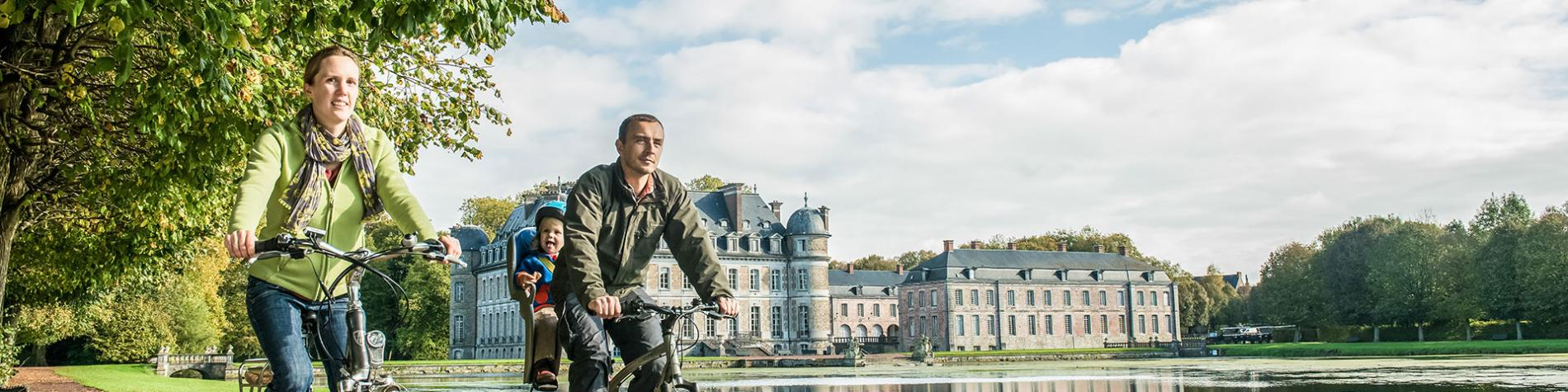 Balade - vélo - Château de Beloeil