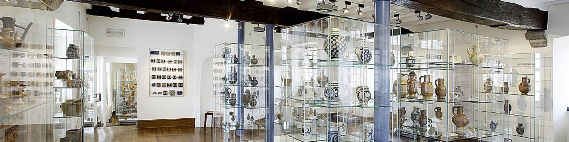 Château de Raeren - musée - poterie