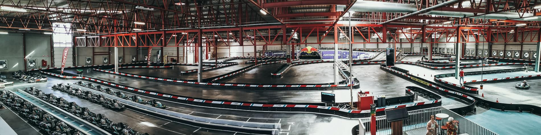 circuit de karting indoor