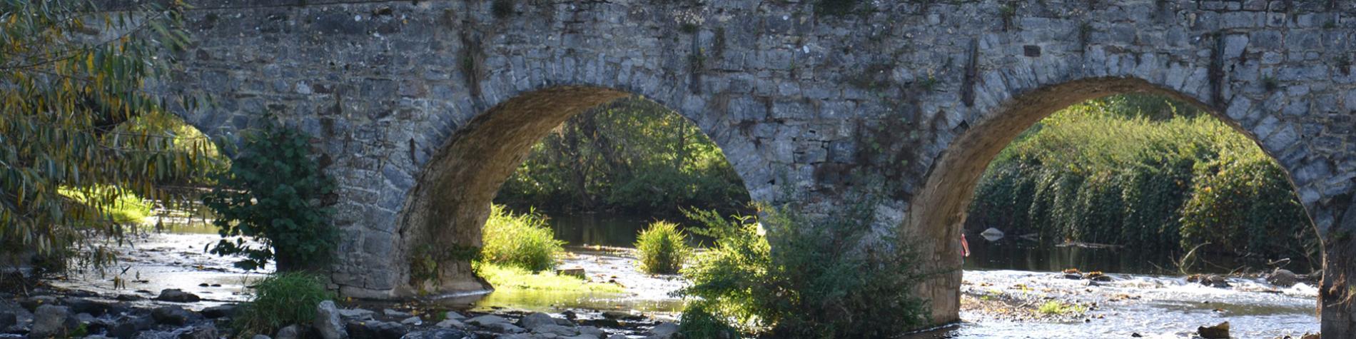 Les Murmures du Viroin - Gîte rural - Treignes - pont de Treignes - jardin