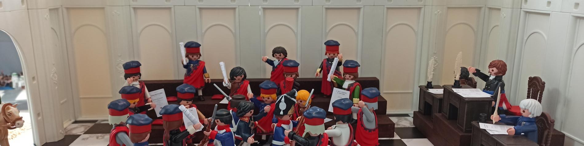 L'Empire en Playmobil (c) L.Lafont