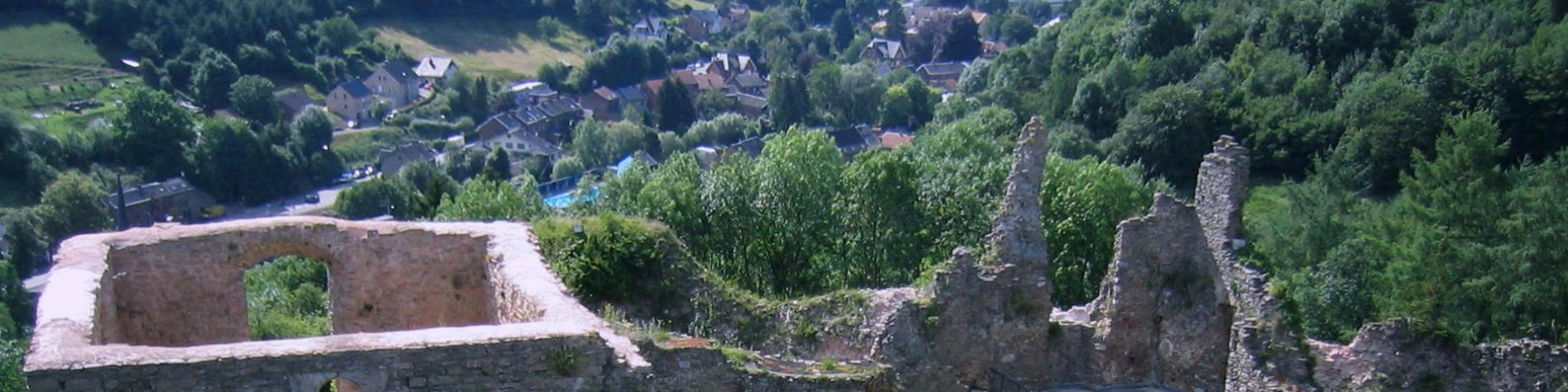 Château - Franchimont - Forteresse médiévale - Theux - XIe siècle - architecture militaire