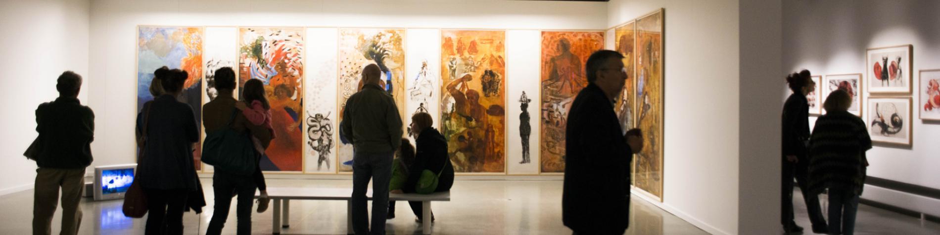 Exposition au Centre de la Gravure et de l'Image imprimée à La Louvière