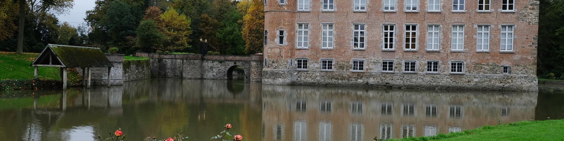 Parc du Château-Braine-le-Château-Vue du château
