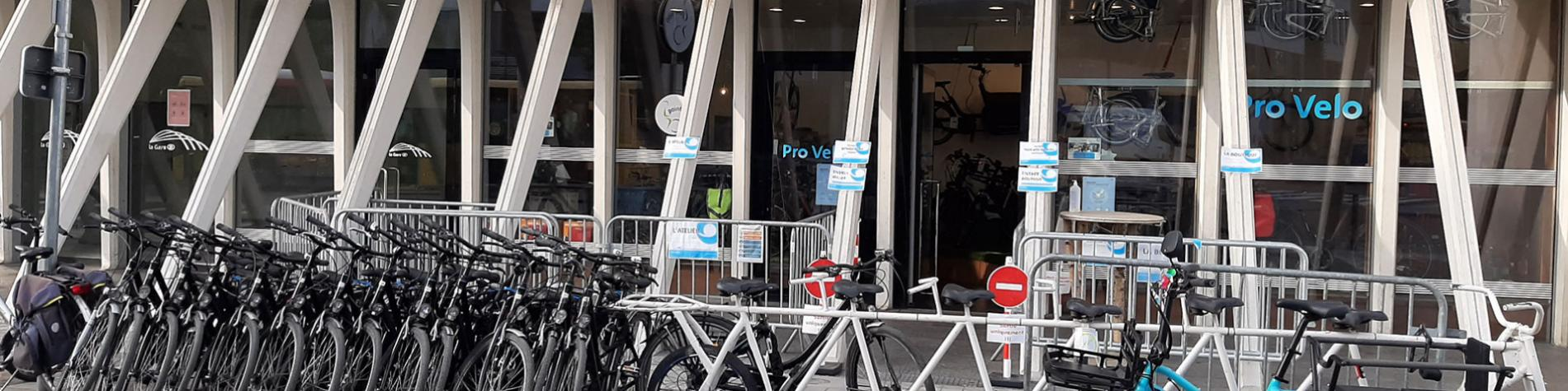 Pro Velo - Liège - Point Vélo - gare - Liège