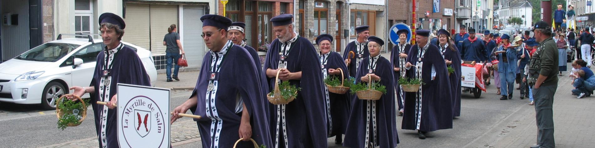 Assistez au cortège folklorique lors de la Fête des Myrtilles à Vielsalm