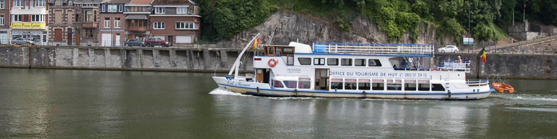 Huy - Vue de la Meuse