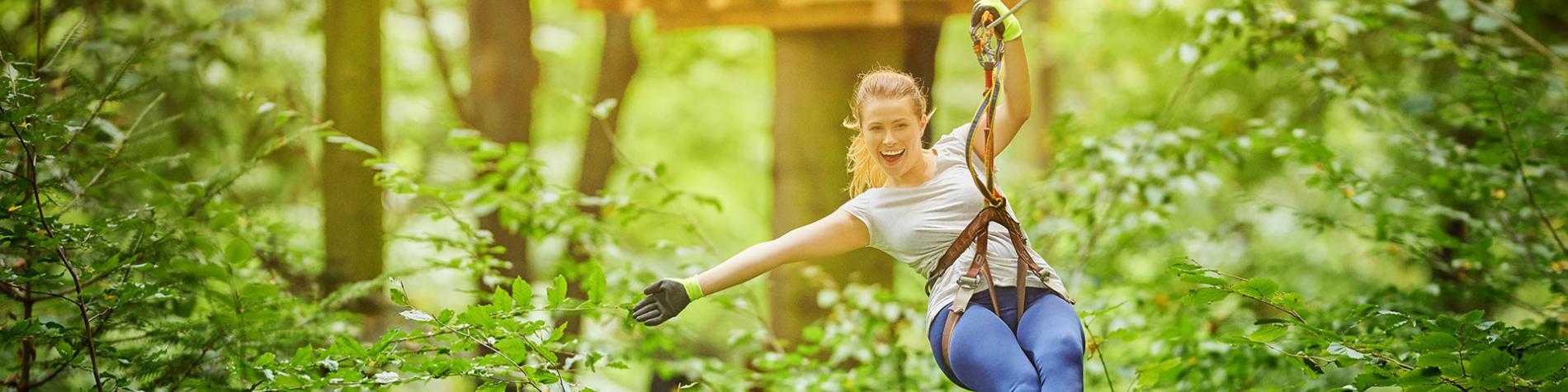 SpaForest - Parc aventure en Ardenne - accrobranche