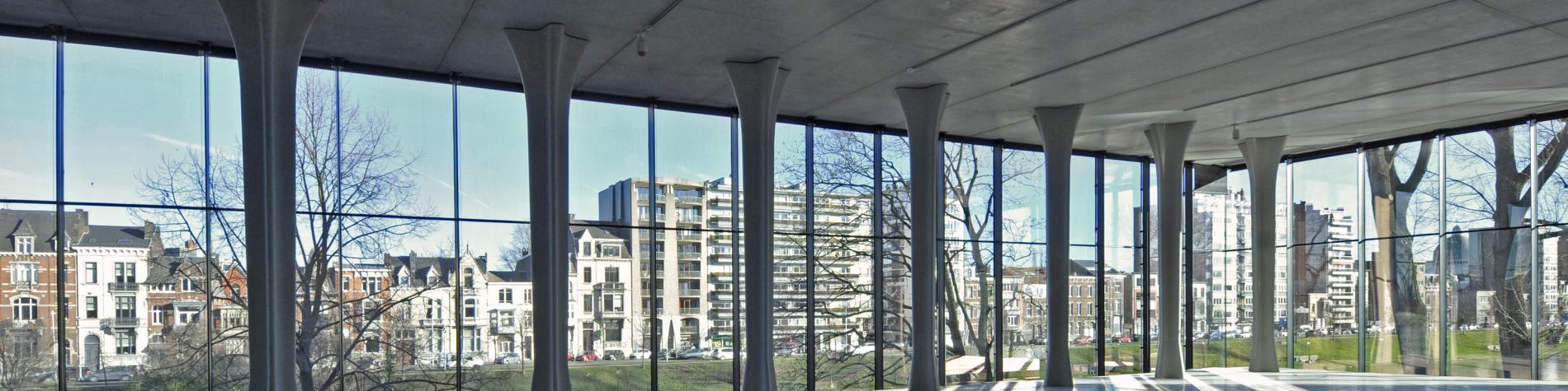 Musée de La Boverie - Salle d'exposition intérieure