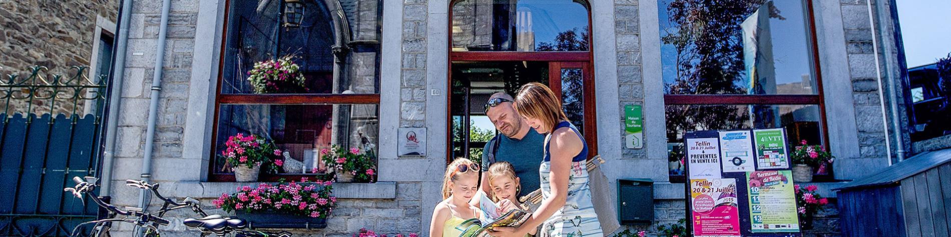 Office du tourisme de Libin - Maison du Tourisme - Haute-Lesse - Redu - village du livre