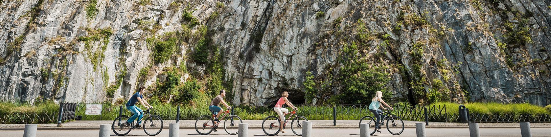 Durbuy - Anticlinal - randonnée à Vélo - circuit