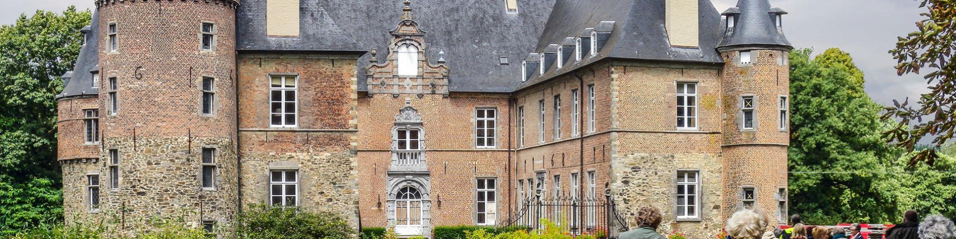 Château - Braine-le-château - forteresse - Seigneurs de Trazegnies