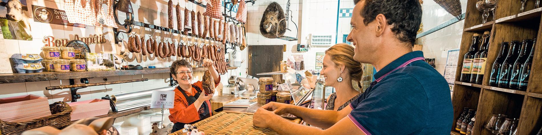 Saint-hubert - La table des Champions - boucherie - charcuterie