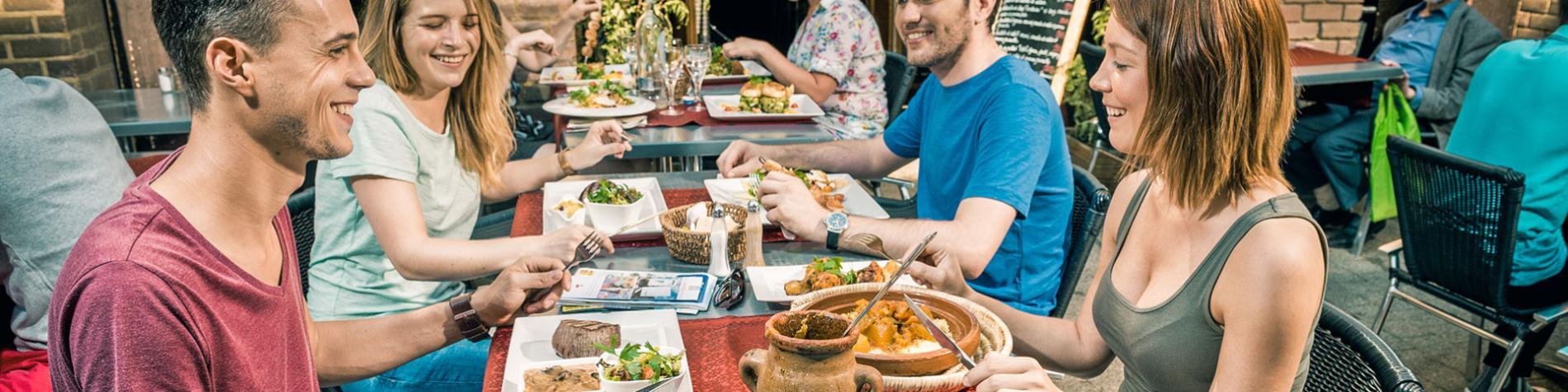 Louvain-la-neuve - Nulle part ailleurs - Restaurant - à table