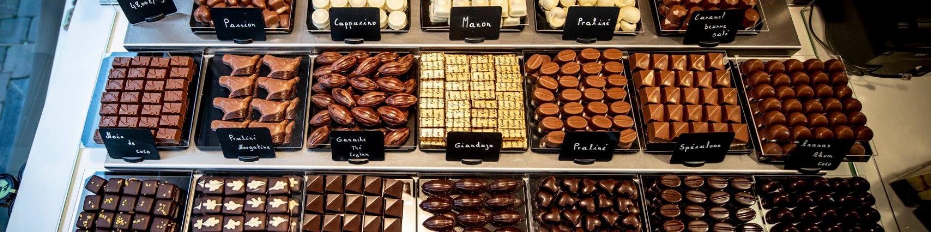 Pralines de l'Atelier O Chocolat