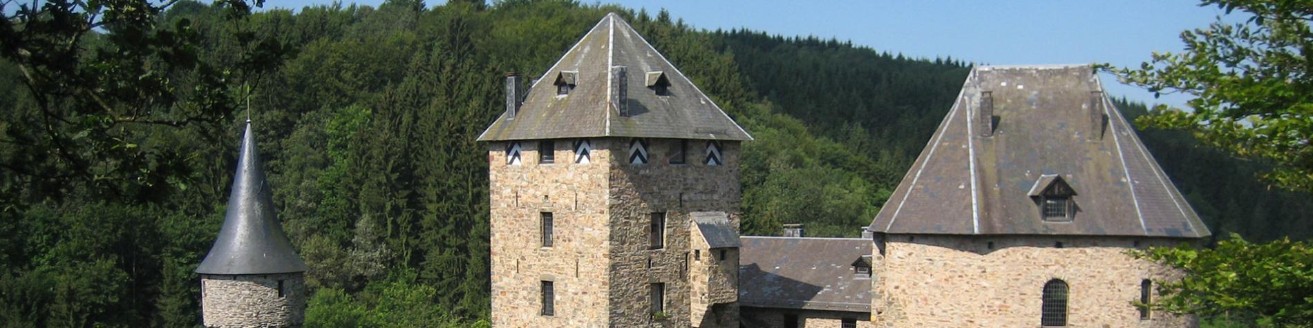 Château - Reinhardstein - Canton de l'Est - Wallonie insolite