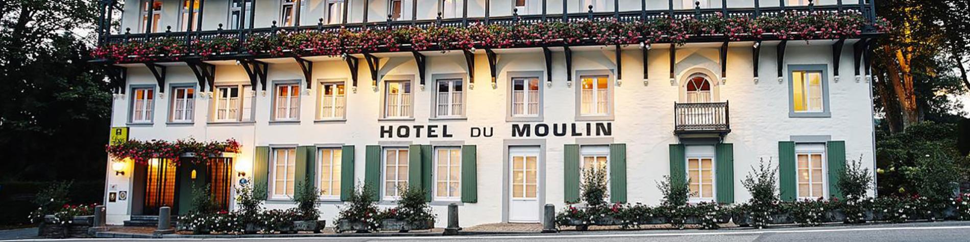 Hôtel - restaurant - Moulin - Ligneuville