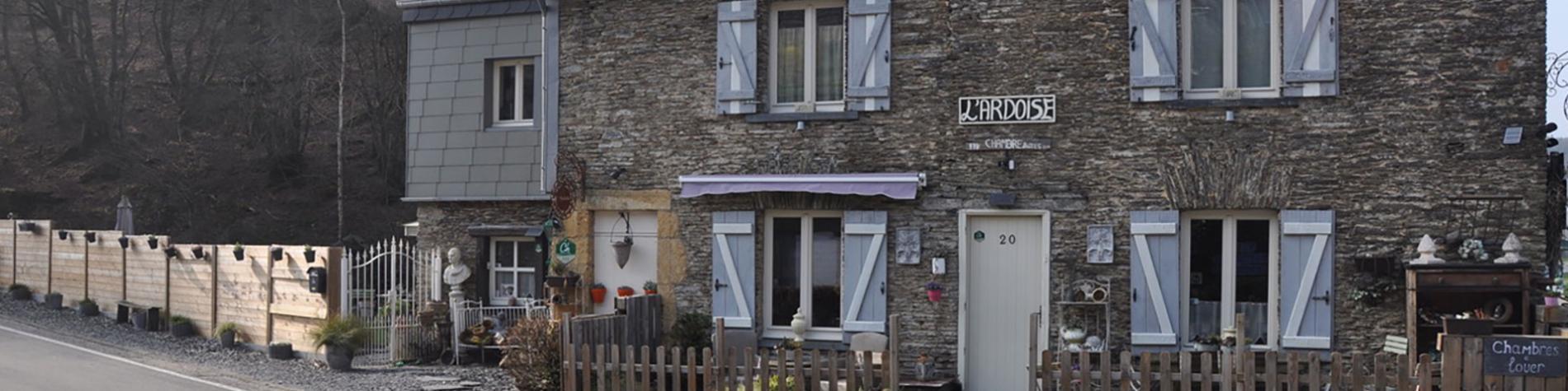 Maison d'hôtes L'Ardoise à Bertrix