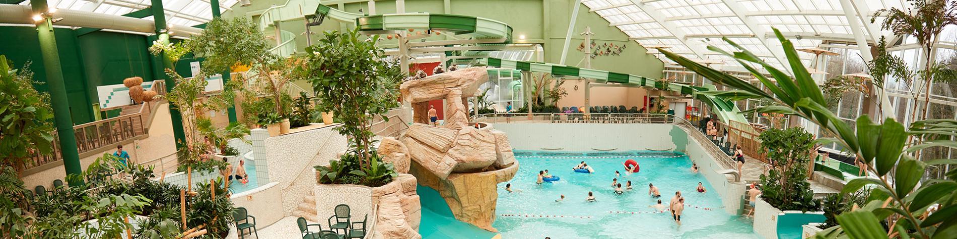 Aqua Mundo - Center Parcs - Les Ardennes - parc aquatique - Vielsalm