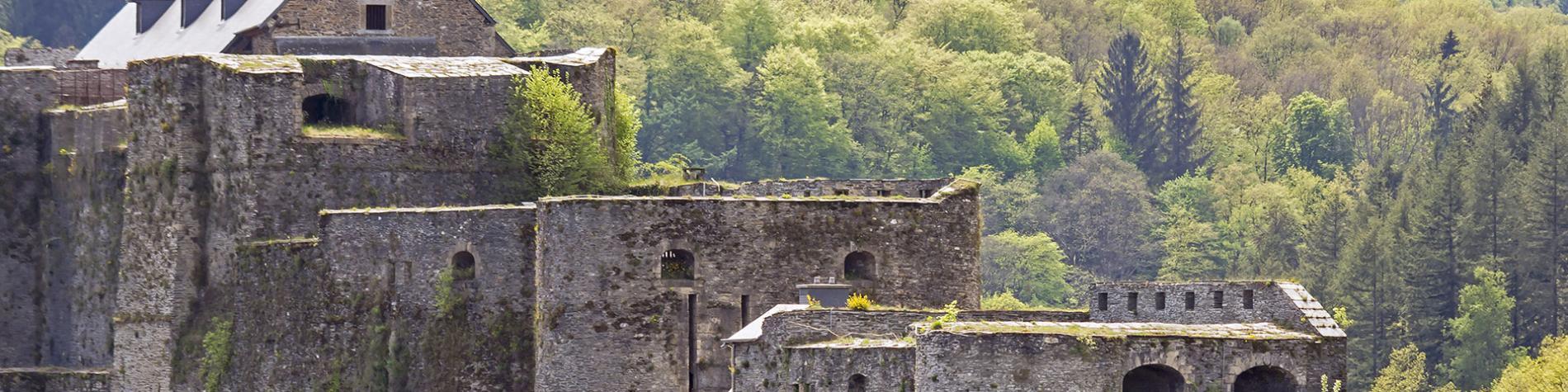 Château - médiéval - Bouillon