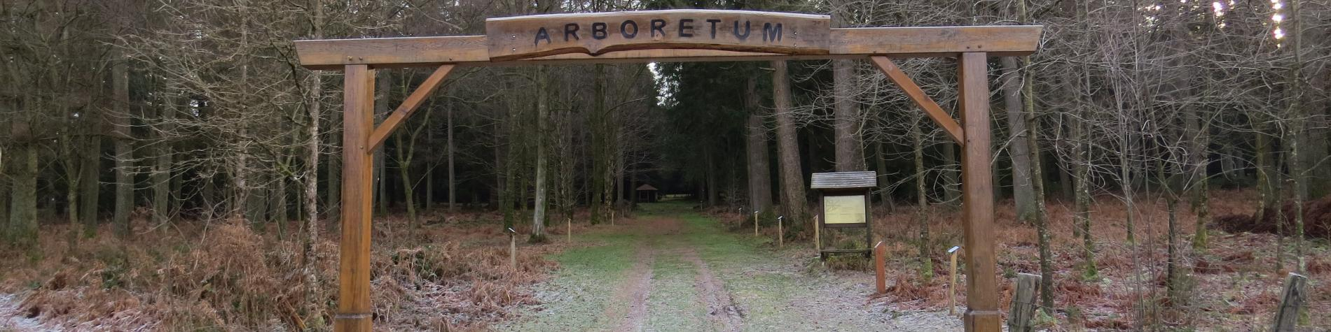 Arboretum - Bertrix - Entrée