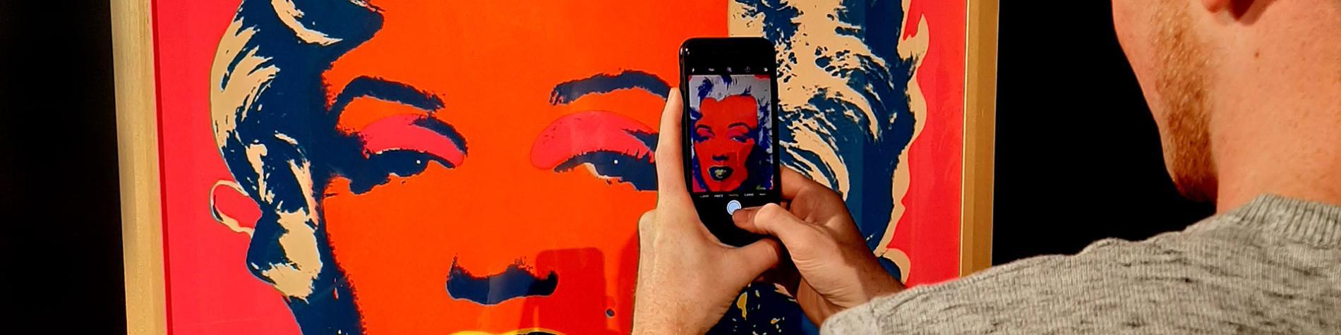 ArtHouse - art du XXe siècle - Source O Rama - Chaudfontaine - Marilyn Monroe