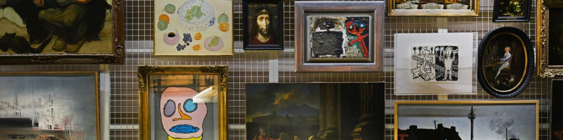 Artothèque - visite - réserves - Wallonie insolite