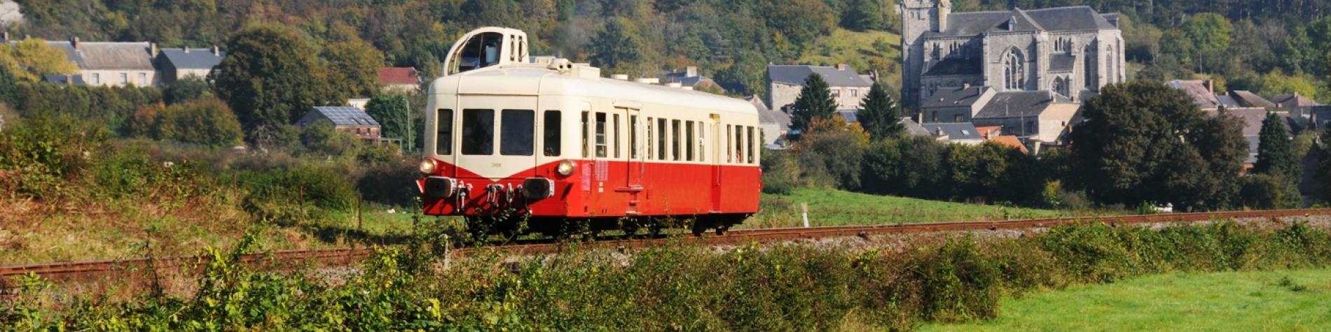 Chemin de fer à vapeur 3 vallées - Autorail - Treignes