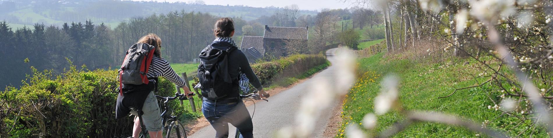 fietstocht - natuur