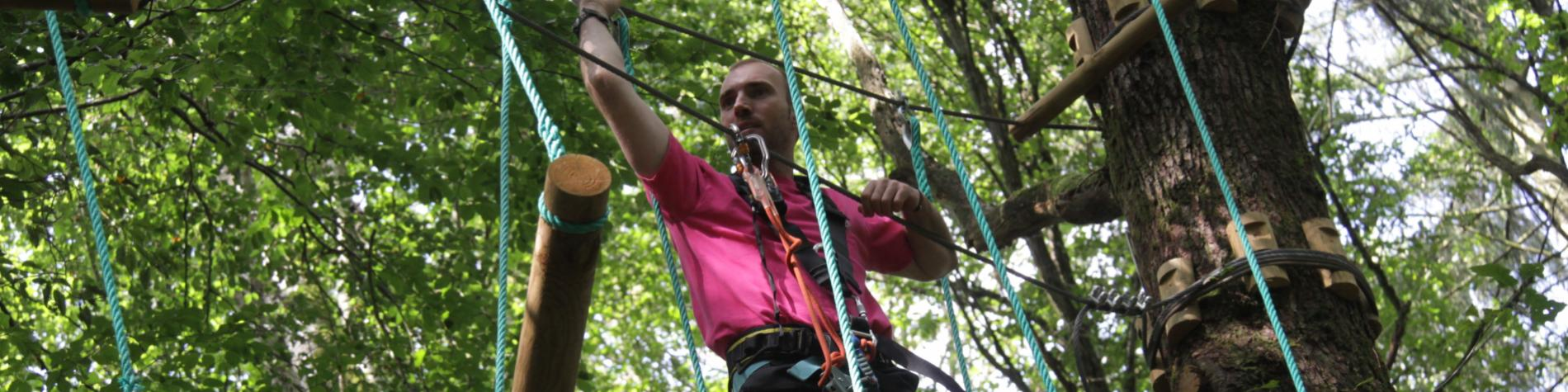 Accrobranche - Ardenne aventures