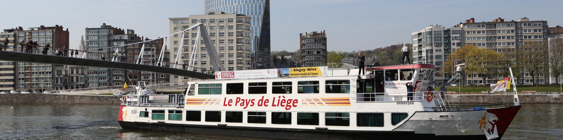 croisière Pays de Liège bateau pour réunion séminaires et conférences Special Venues en Wallonie