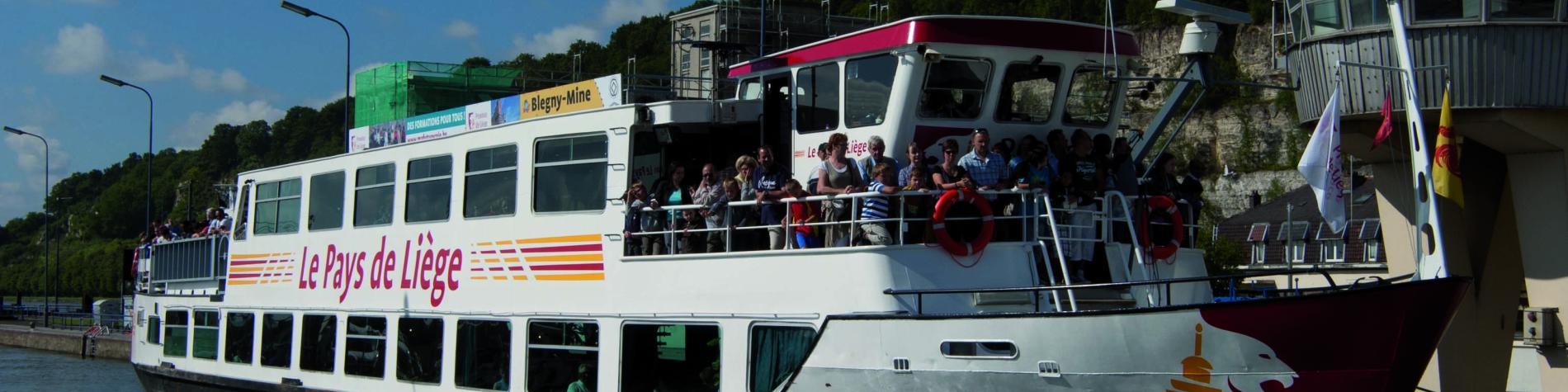 bateau Pays de Liège, réunion, conférences, meetings, croisière, insolite special venues