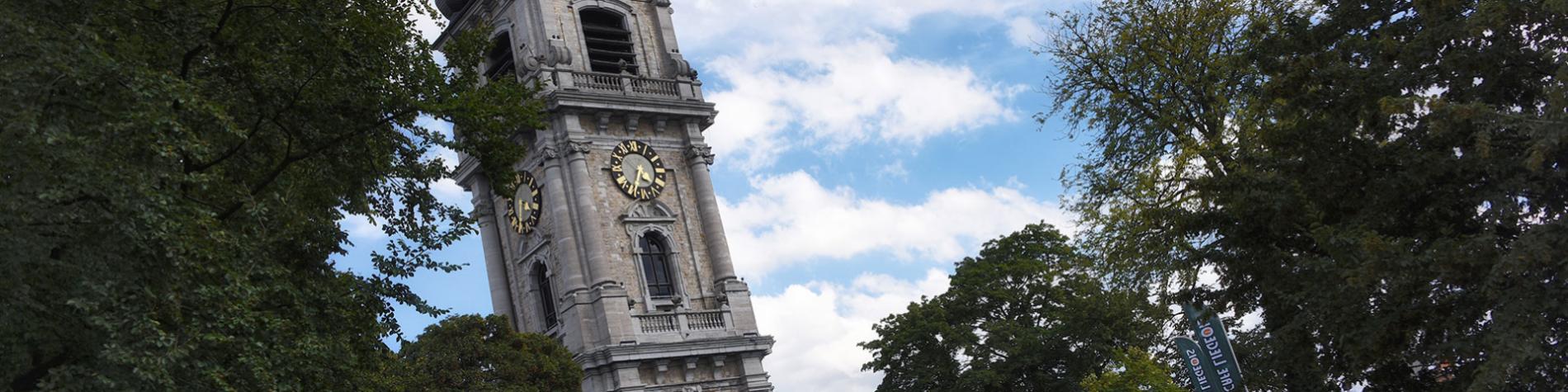 Beffroi de Mons - monument baroque - ascenseur panoramique - carillonneurs