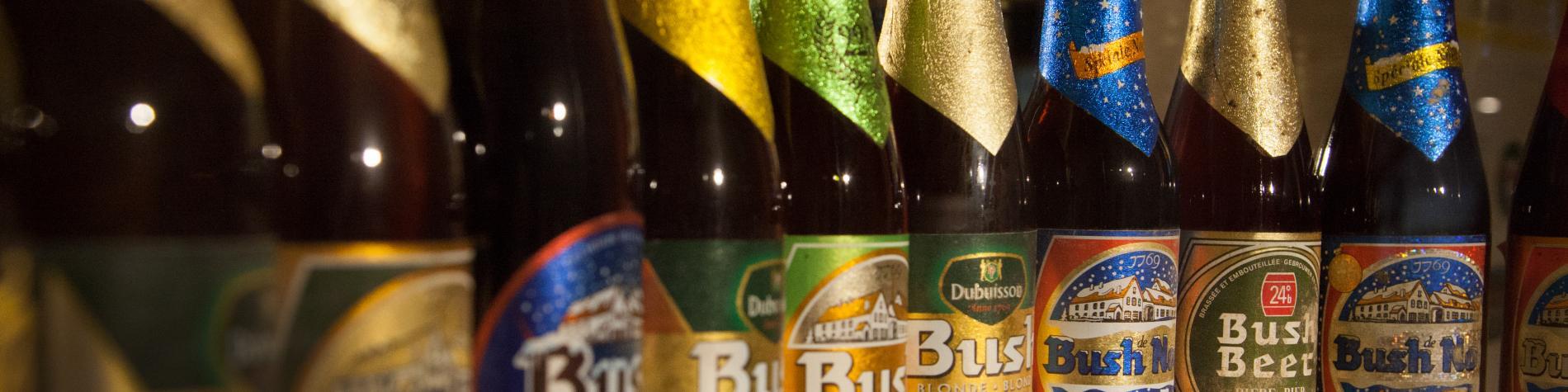 Brasserie Dubuisson - bouteilles de Bush