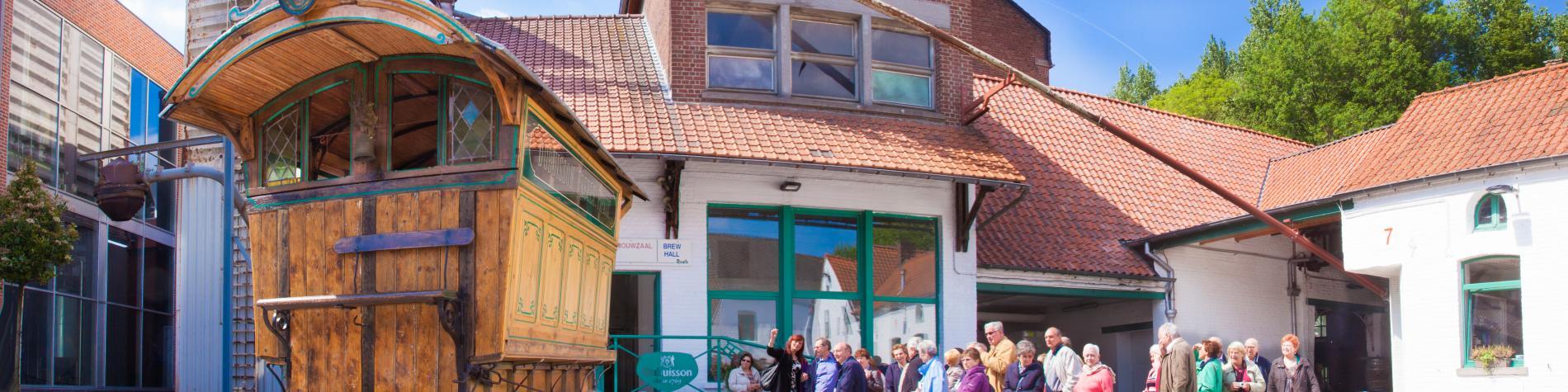 Brasserie Dubuisson - vue extérieure