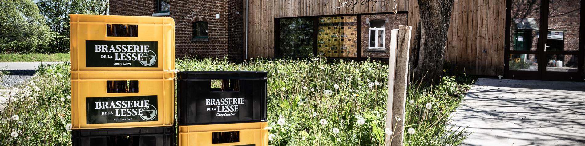 Vue de la Brasserie de la Lesse - Eprave