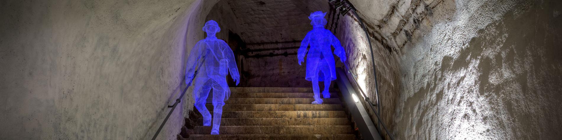 Citadel - Namen - Ondergronds gangenstelsel - museum - Buitengewoon Wallonië