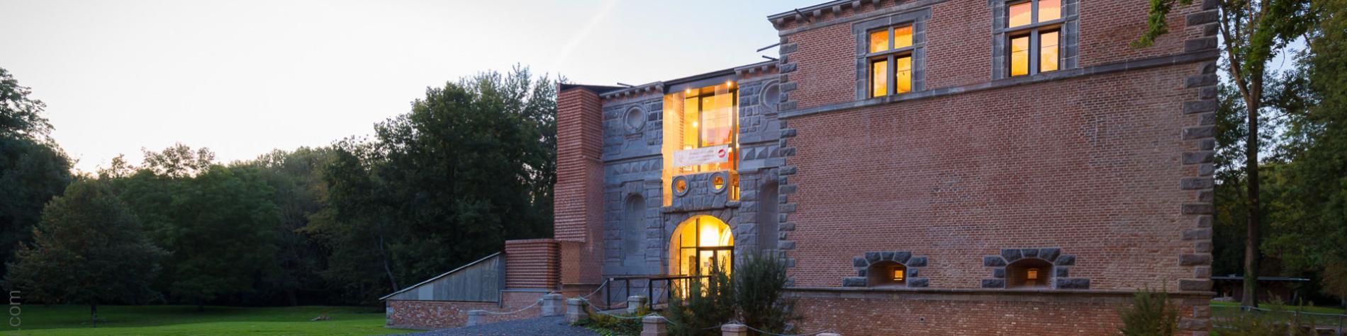 château - Boussu - parc - musée - Province de Hainaut