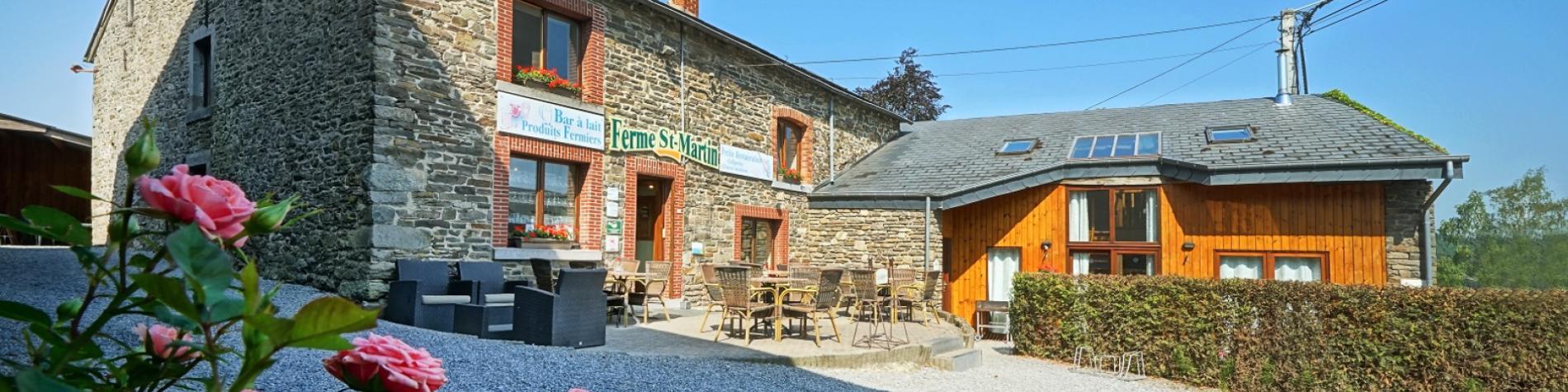 Maison d'hôtes - Ferme Saint-Martin - Malempré
