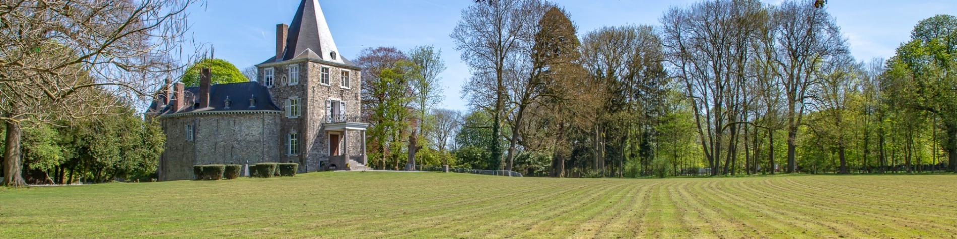 Château de Waroux à Alleur en province de Liège