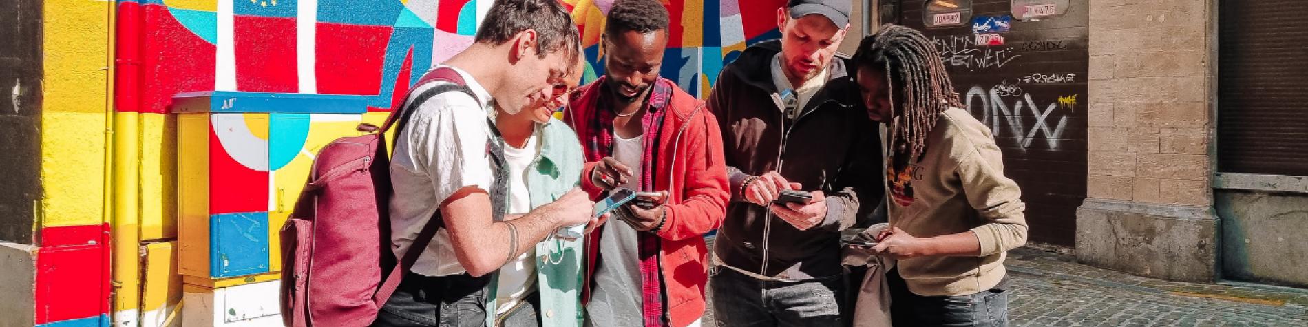 Gemotions - plateforme d'animation et de création de jeux de piste par sms - partout en Wallonie