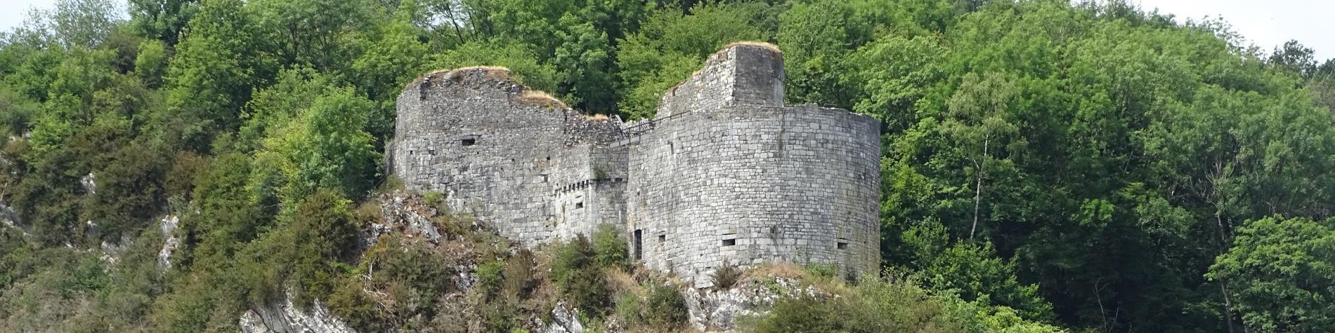 Les ruines de Crèvecoeur - Dinant