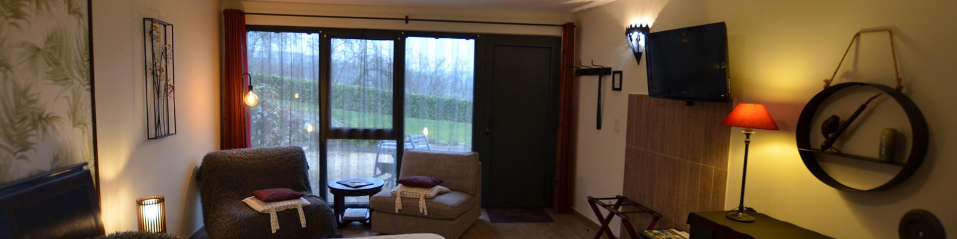 Le Bouchat Oreille - Chambres d'hôtes - Yvoir - 4 chambres d'hôtes - 8 personnes