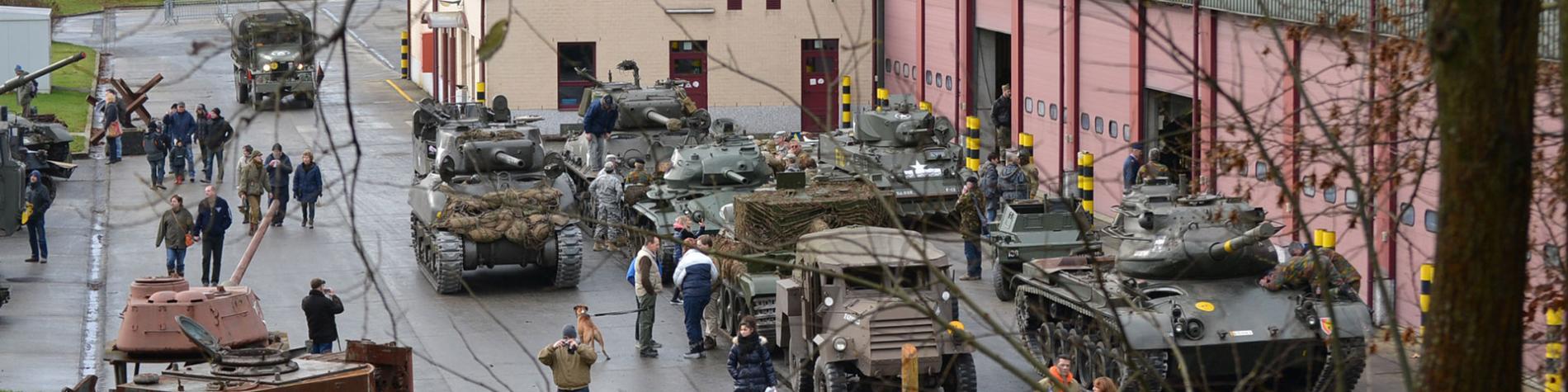 Bastogne Barracks - centre d'interprétation - Seconde Guerre Mondiale - Nuts - Bataille des Ardennes