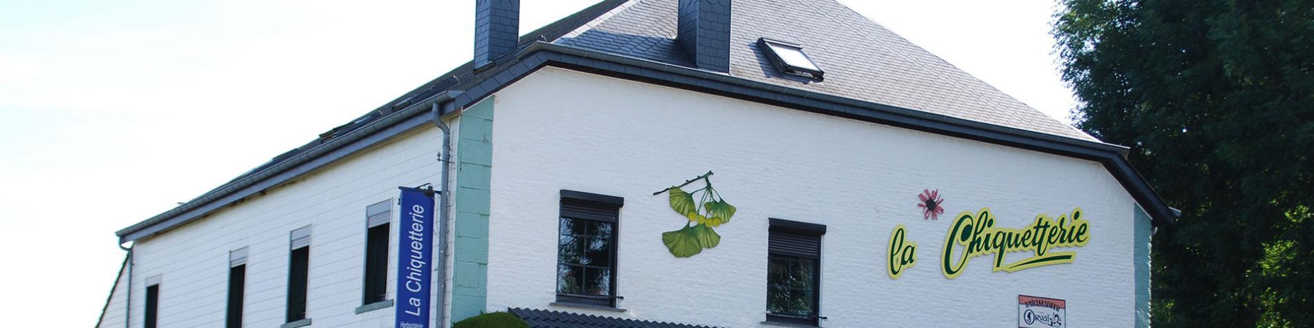 La Chiquetterie - Nafraiture - Tea-room - plantes sauvages