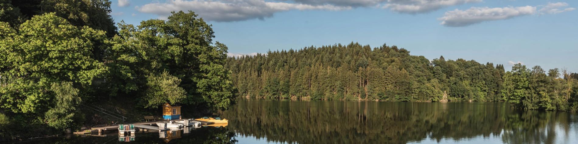 Lac de Robertville - détente - baignade - pleine nature