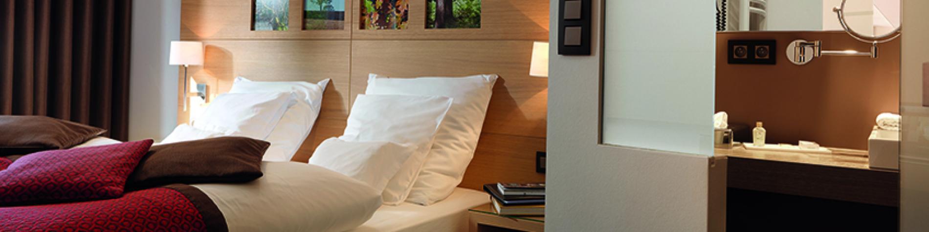 Découvrez les chambres de l'Hôtel Bütgenbacher-Hof - Relais du Silence en Ardennes