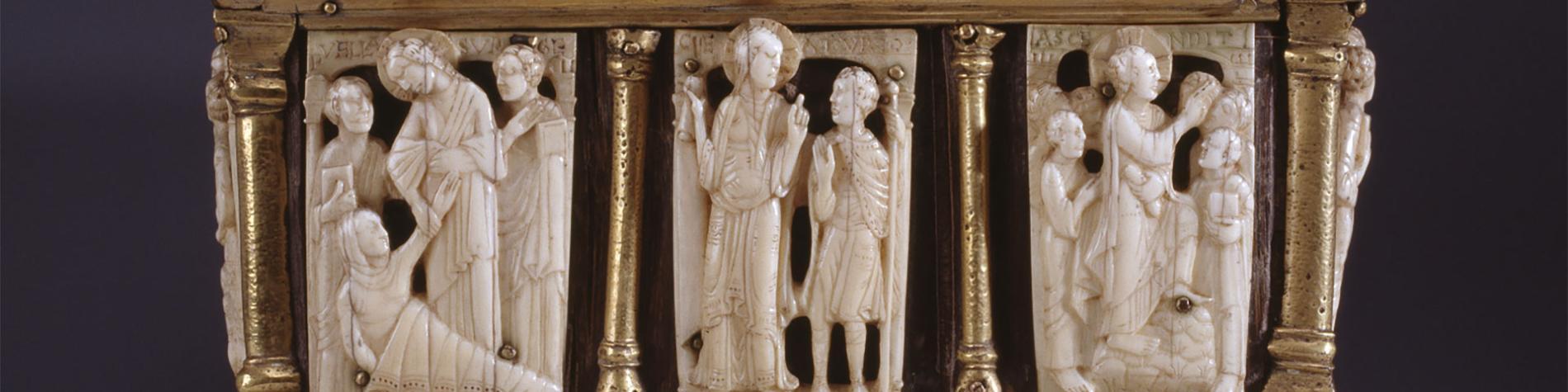 Musée - diocésain - trésor - cathédrale de Namur - orfèvrerie - verres - sculptures - dinanderies - ornements liturgiques